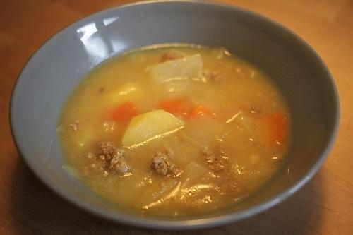 挽き肉スープのバリエーション例_d0144726_23505671.jpg