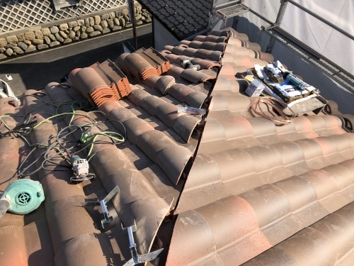 山梨市 ランダムブラウンの屋根 其の三_b0242734_19274052.jpeg