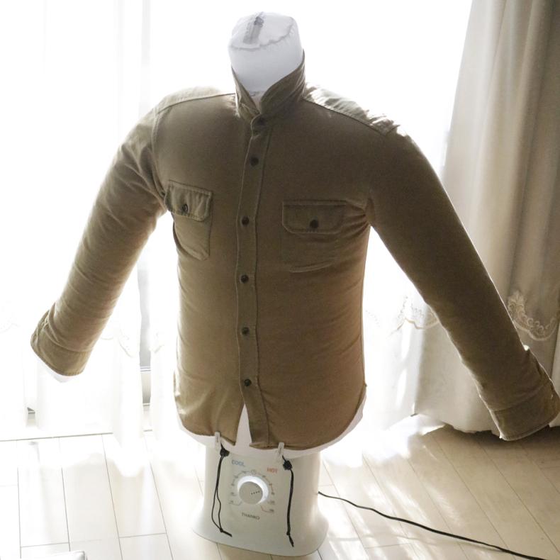 【PR】雨の日や夜でもシャツを乾かせる「アイロンいら~ず2」_c0060143_21272524.jpg