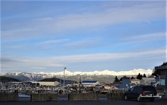 近くと遠くの雪山 アラスカ州内の気温_d0356844_13121457.jpg