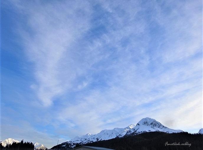 近くと遠くの雪山 アラスカ州内の気温_d0356844_13131040.jpg