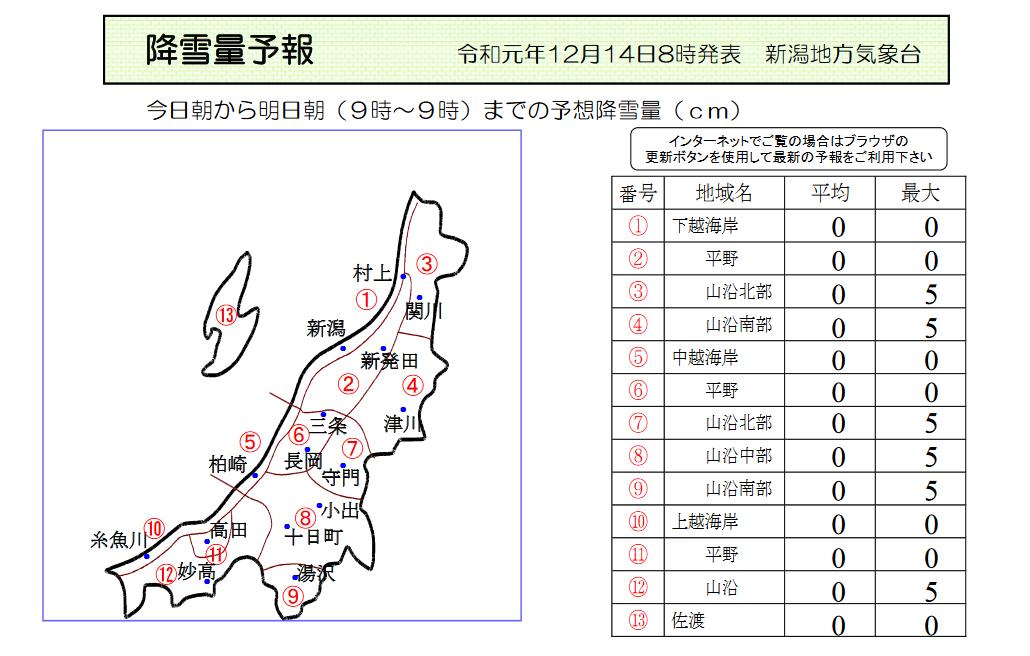 新潟県降雪量予報(2019年12月14日AM)_e0037849_07595207.png