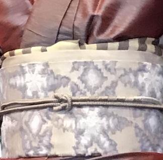 11周年・タイシルクの着物にまいづる雪の結晶帯のお客様。_f0181251_17583176.jpg