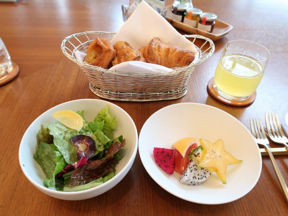 朝食 ハレクラニ 沖縄