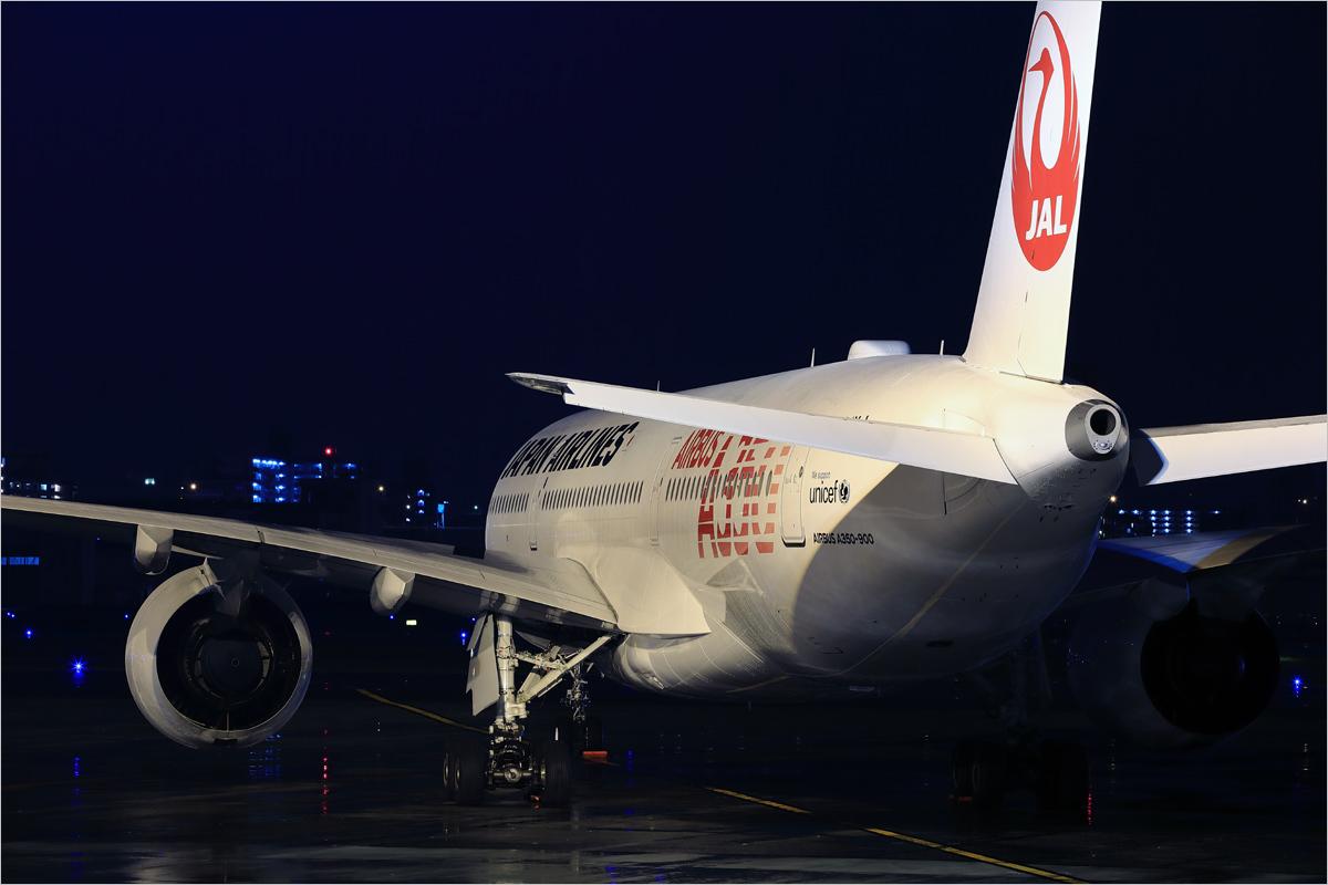 雨に濡れた夜 - 福岡空港_c0308259_01231730.jpg