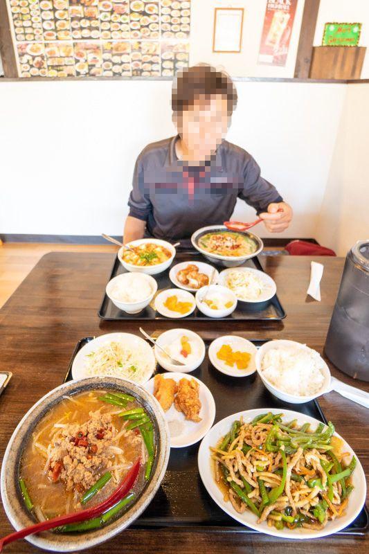 台湾料理 吉源の青椒肉絲定食が、食べきれず・・・(>_<)_a0077663_13265586.jpg