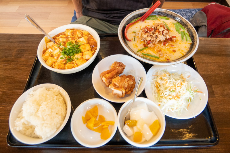 台湾料理 吉源の青椒肉絲定食が、食べきれず・・・(>_<)_a0077663_13265599.jpg