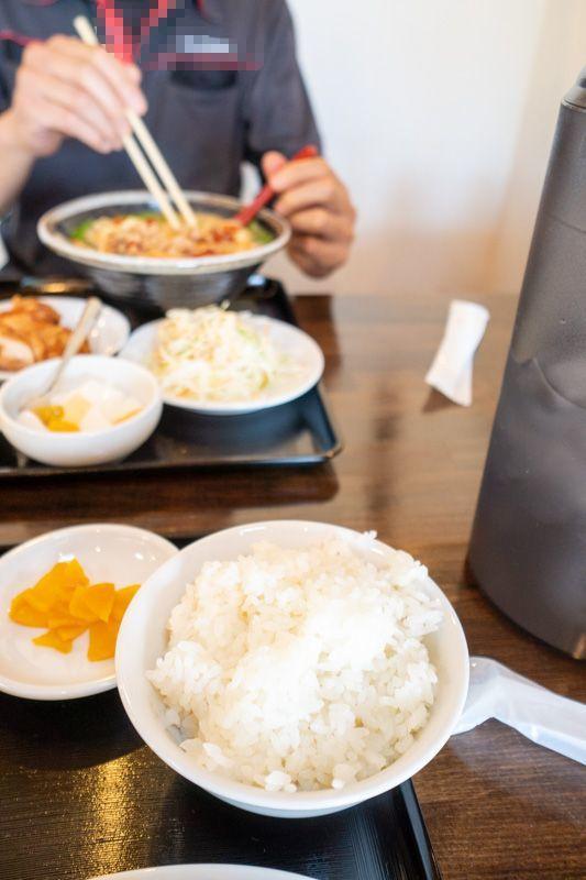 台湾料理 吉源の青椒肉絲定食が、食べきれず・・・(>_<)_a0077663_13272285.jpg