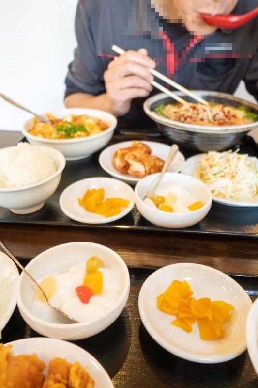 台湾料理 吉源の青椒肉絲定食が、食べきれず・・・(>_<)_a0077663_13273205.jpg
