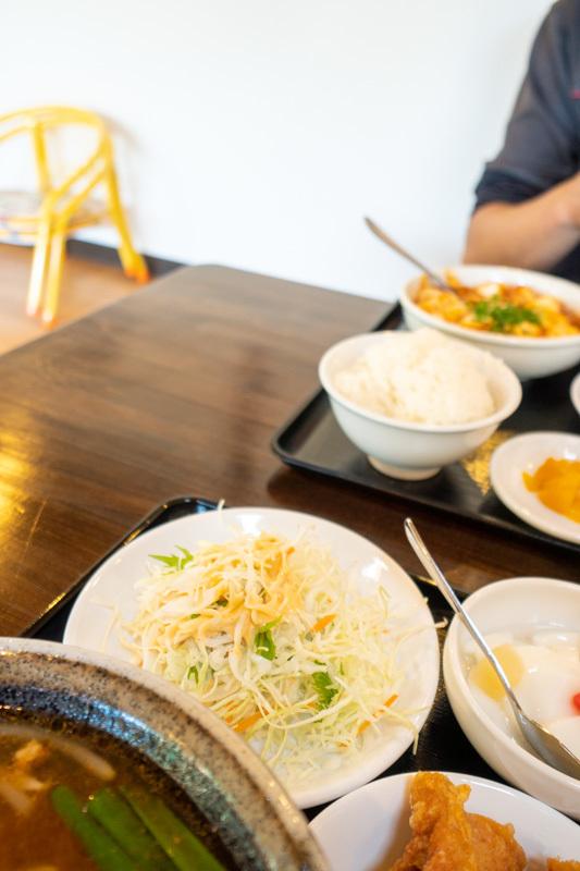 台湾料理 吉源の青椒肉絲定食が、食べきれず・・・(>_<)_a0077663_13273223.jpg