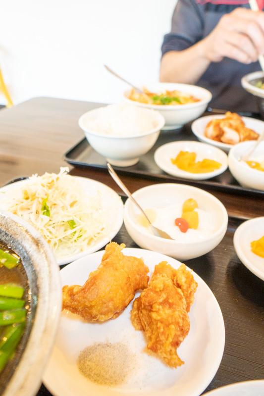 台湾料理 吉源の青椒肉絲定食が、食べきれず・・・(>_<)_a0077663_13273272.jpg