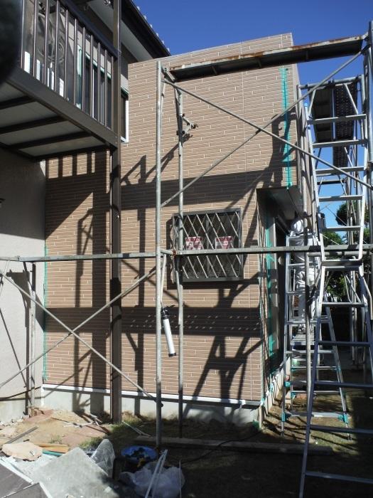 6畳間増築 ~ 外壁工事 。_d0165368_02330286.jpg
