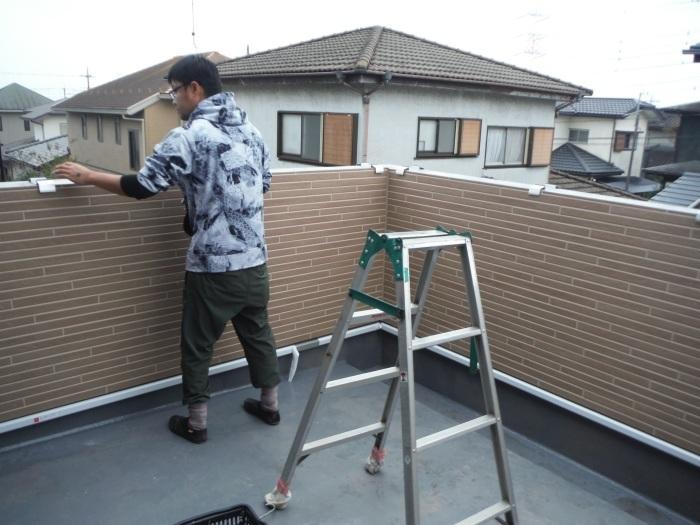 6畳間増築 ~ 外壁工事 。_d0165368_02331391.jpg