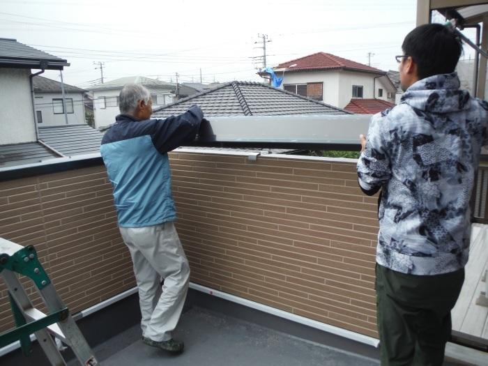6畳間増築 ~ 外壁工事 。_d0165368_02335413.jpg
