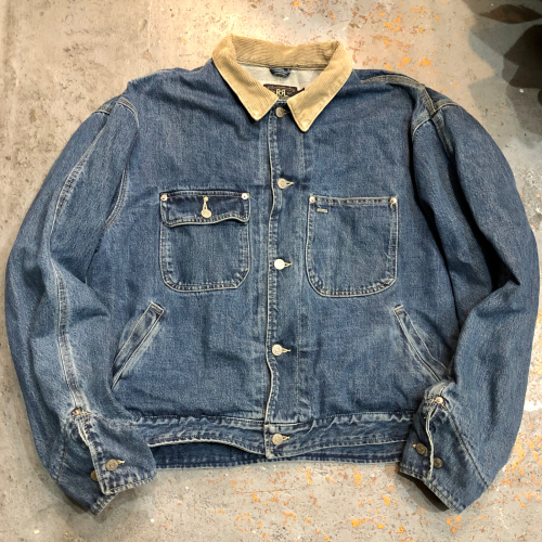 ◇ 90s RRL DENIM JACKET Made in USA ◇_c0059778_23374493.jpg