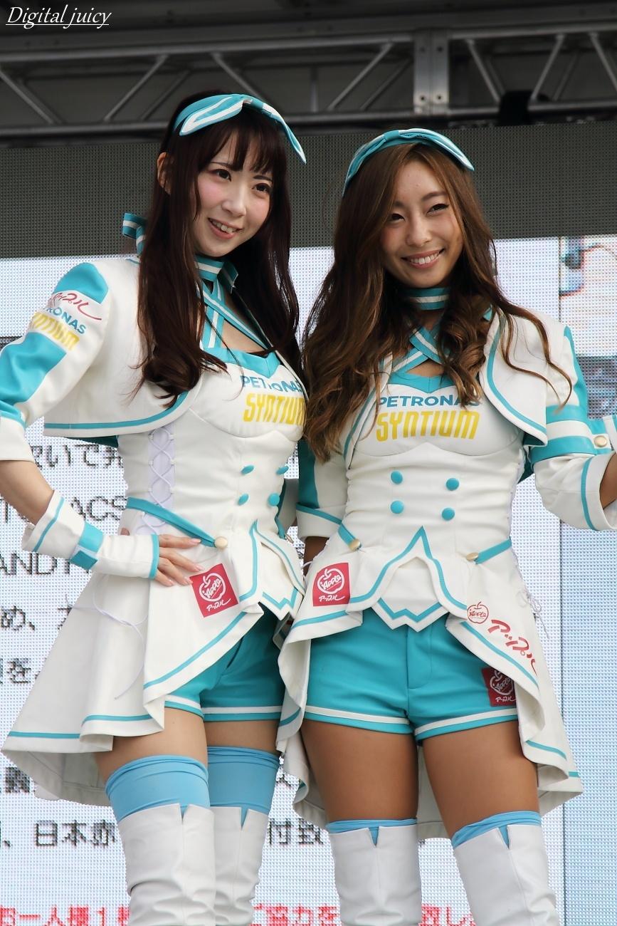 桜井さち さん & 大谷芽衣 さん(PETRONAS SYMTIUM Ladies)_c0216181_22054966.jpg