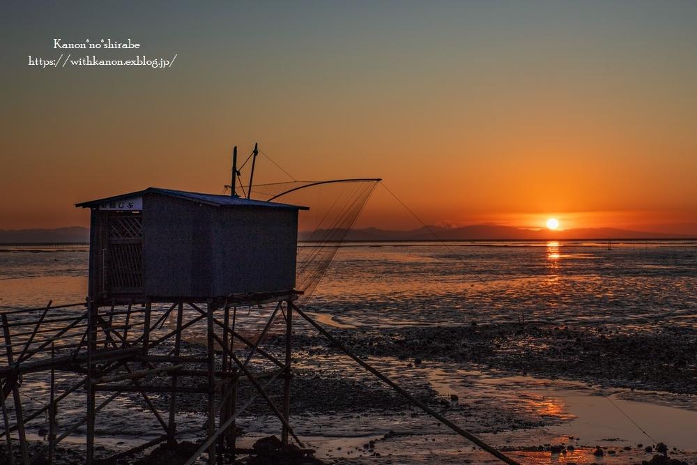 有明海の日の出_d0148187_18540524.jpg