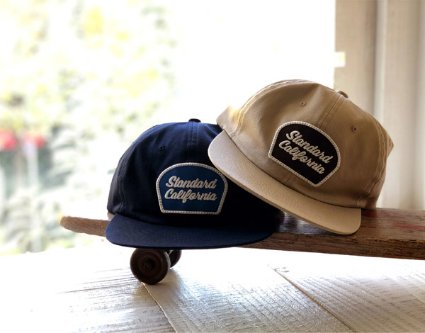 【DELIVERY】 STANDARD CALIFORNIA - Script Logo Patch Twill Cap_a0076701_12284796.jpg
