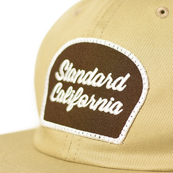 【DELIVERY】 STANDARD CALIFORNIA - Script Logo Patch Twill Cap_a0076701_12311610.jpg