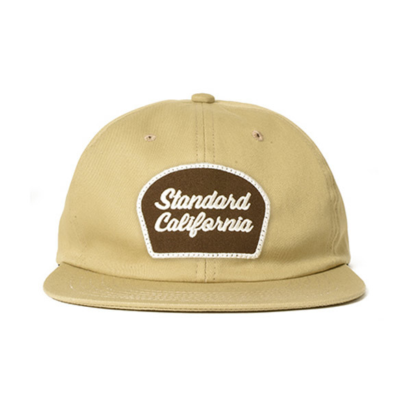 【DELIVERY】 STANDARD CALIFORNIA - Script Logo Patch Twill Cap_a0076701_12313496.jpg