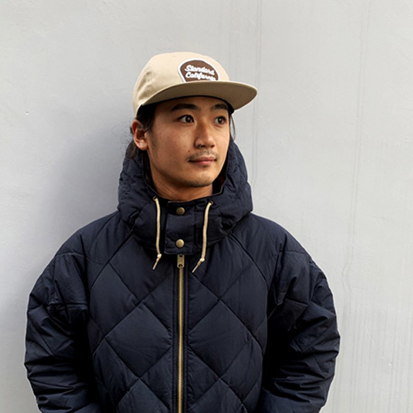 【DELIVERY】 STANDARD CALIFORNIA - Script Logo Patch Twill Cap_a0076701_12320194.jpg