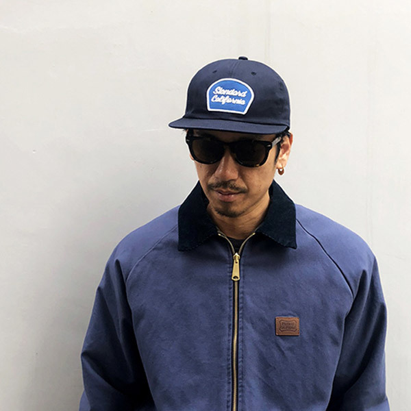 【DELIVERY】 STANDARD CALIFORNIA - Script Logo Patch Twill Cap_a0076701_12320833.jpg