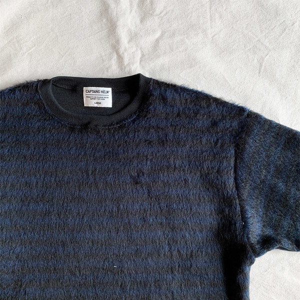 【DELIVERY】 CAPTAINS HELM - #MOHAIR L/S TEE_a0076701_12481023.jpg