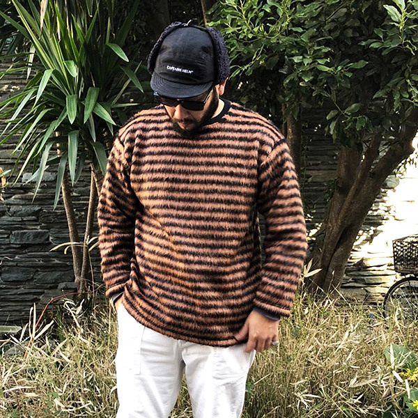 【DELIVERY】 CAPTAINS HELM - #MOHAIR L/S TEE_a0076701_12483515.jpg