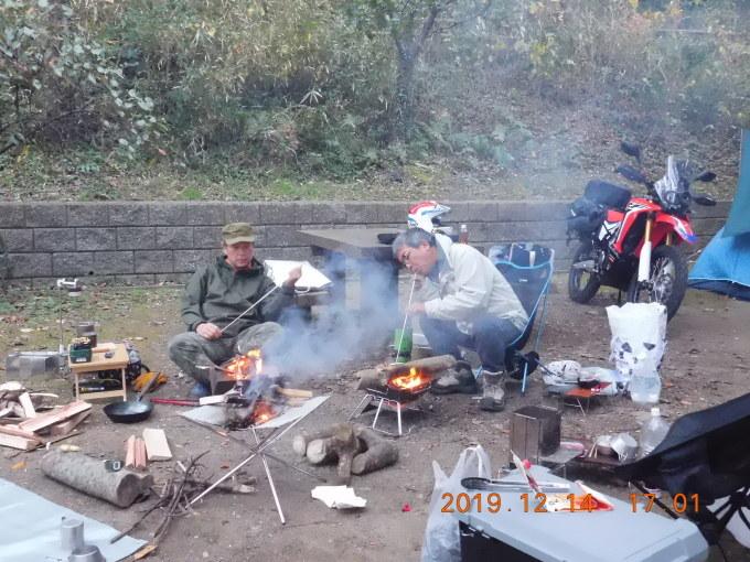 暖かかった忘年キャンプ_f0061705_18384082.jpg