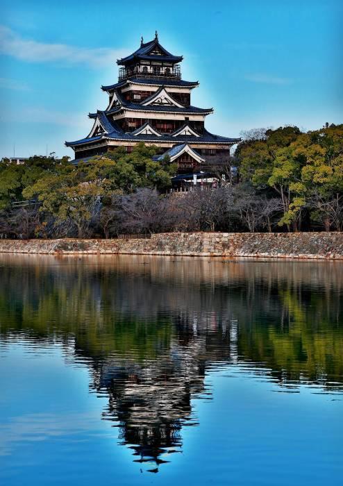 """青空に映える """"広島城"""" そのⅡ_a0140608_07305983.jpg"""