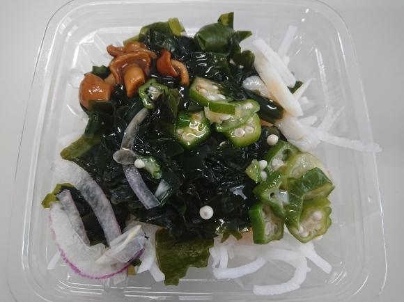 12/15 肉みそ生姜 & 野菜とウインナーのポトフ & ネバネバサラダ_b0042308_12372112.jpg