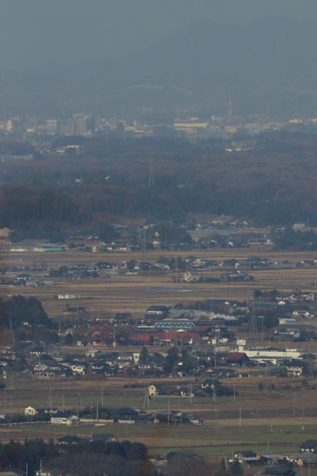 青い鉄橋を白煙が渡っていく - 2019年初冬・真岡鉄道 -_b0190710_20060910.jpg