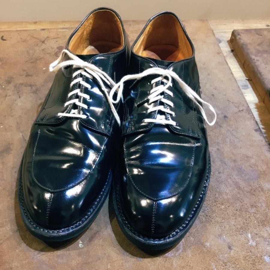 靴磨きすると、、、、やっぱり見違える_f0283816_14120916.jpeg