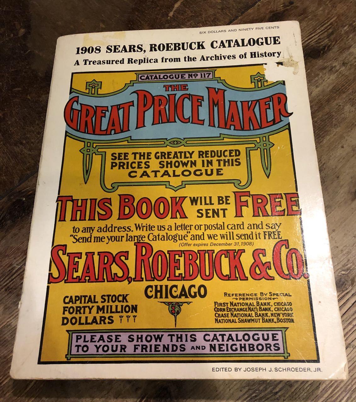 12月15日(日)入荷! 1908年 Sears Catagog シアーズ カタログ!_c0144020_14045441.jpg