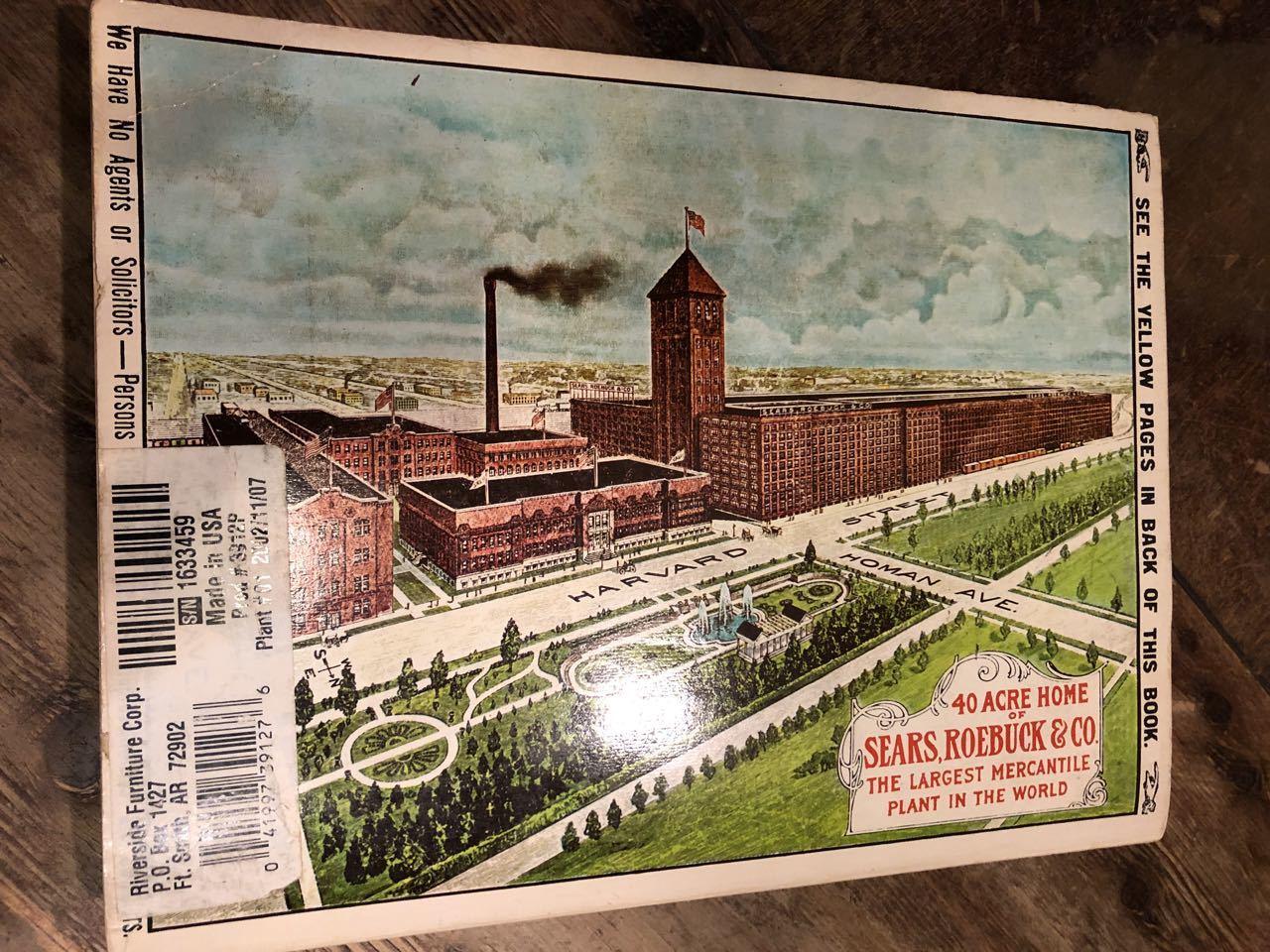 12月15日(日)入荷! 1908年 Sears Catagog シアーズ カタログ!_c0144020_14055035.jpg