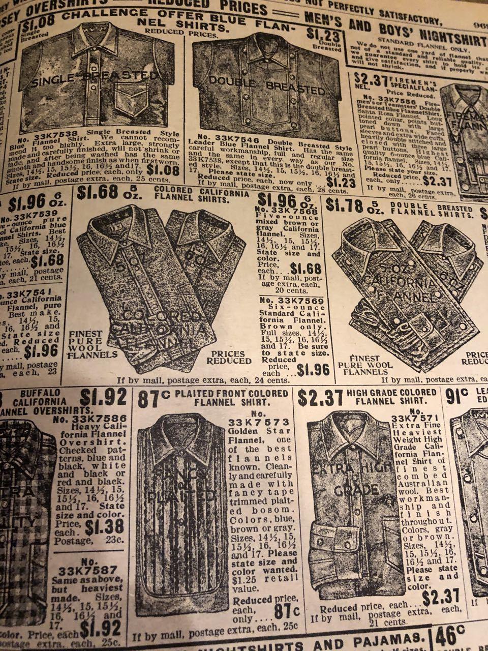 12月15日(日)入荷! 1908年 Sears Catagog シアーズ カタログ!_c0144020_14055776.jpg