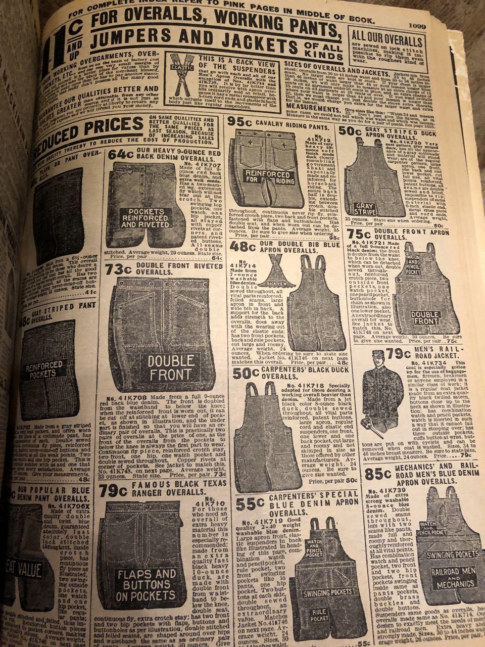 12月15日(日)入荷! 1908年 Sears Catagog シアーズ カタログ!_c0144020_14060018.jpg