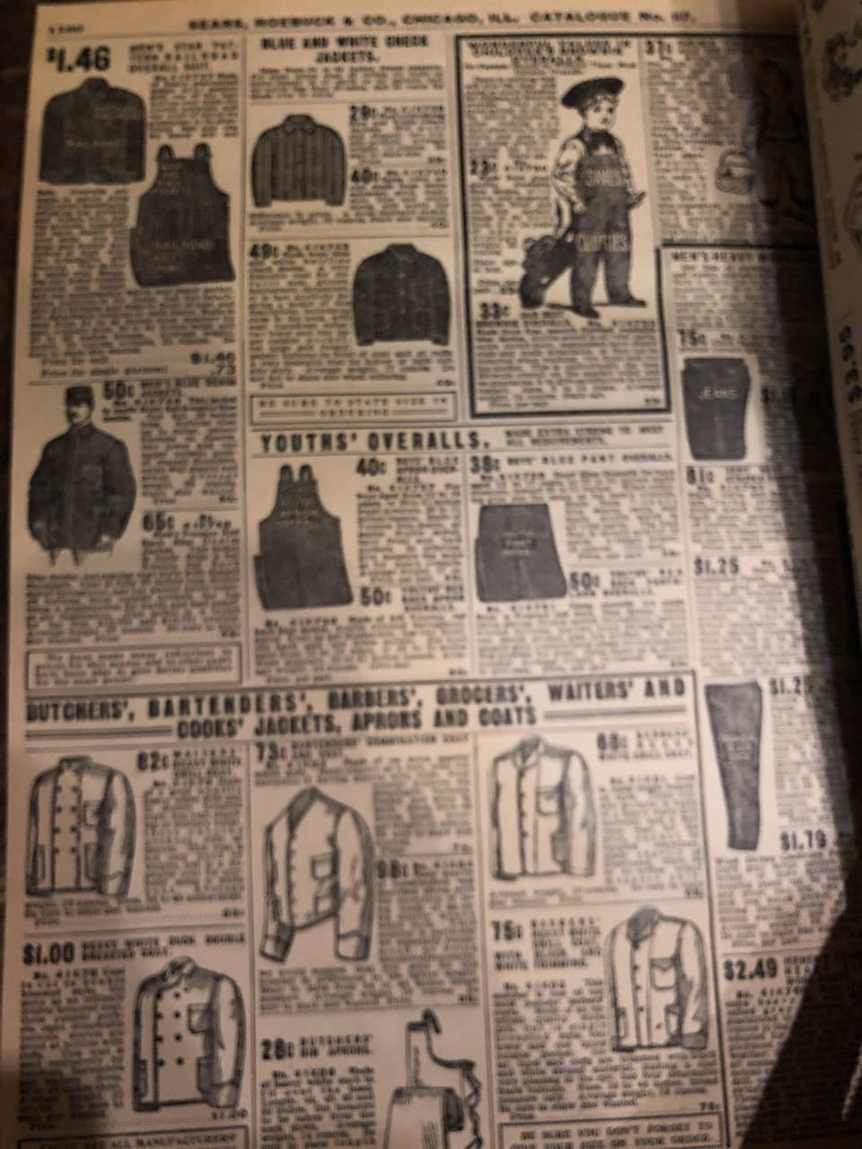 12月15日(日)入荷! 1908年 Sears Catagog シアーズ カタログ!_c0144020_14060209.jpg