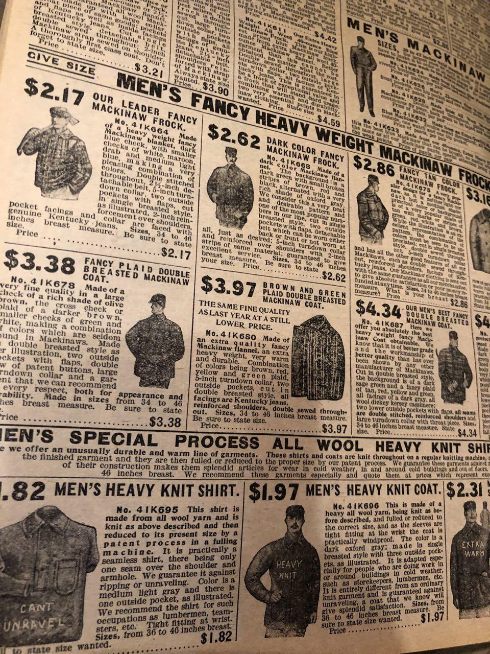 12月15日(日)入荷! 1908年 Sears Catagog シアーズ カタログ!_c0144020_14060450.jpg