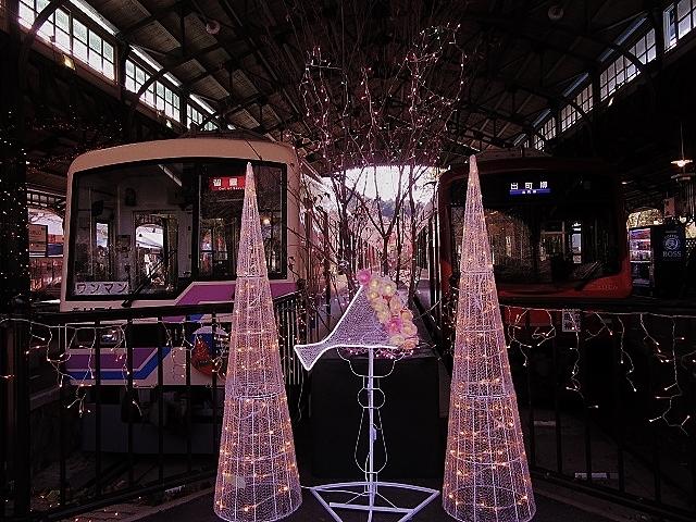 12月14日 レトロな駅舎にて、クリスマスステーションin八瀬_f0227828_08211880.jpg
