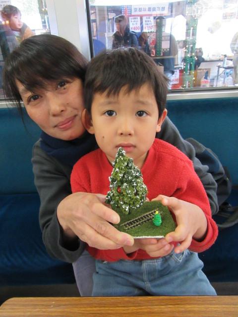 12月14日 レトロな駅舎にて、クリスマスステーションin八瀬_f0227828_08224943.jpg
