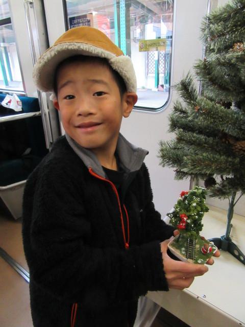 12月14日 レトロな駅舎にて、クリスマスステーションin八瀬_f0227828_08244281.jpg