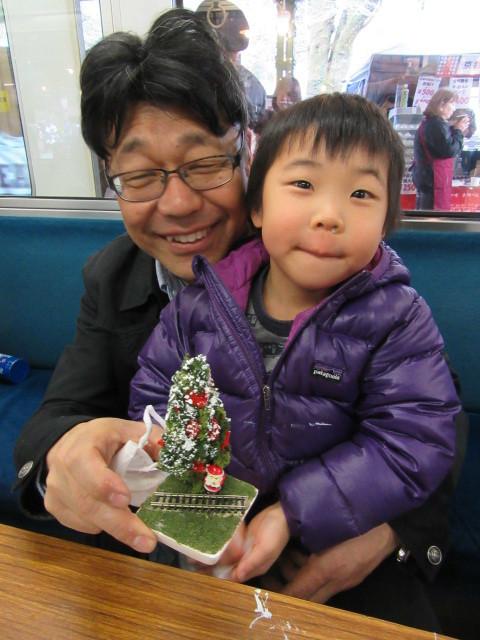 12月14日 レトロな駅舎にて、クリスマスステーションin八瀬_f0227828_08251853.jpg