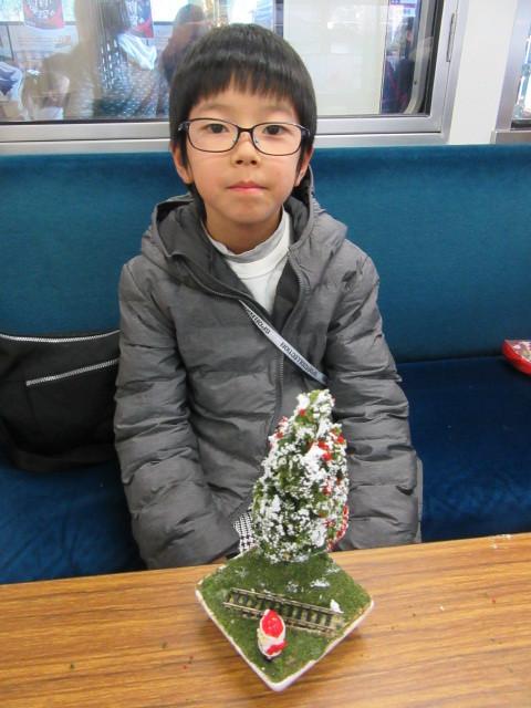 12月14日 レトロな駅舎にて、クリスマスステーションin八瀬_f0227828_08253991.jpg