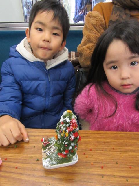 12月14日 レトロな駅舎にて、クリスマスステーションin八瀬_f0227828_08270442.jpg