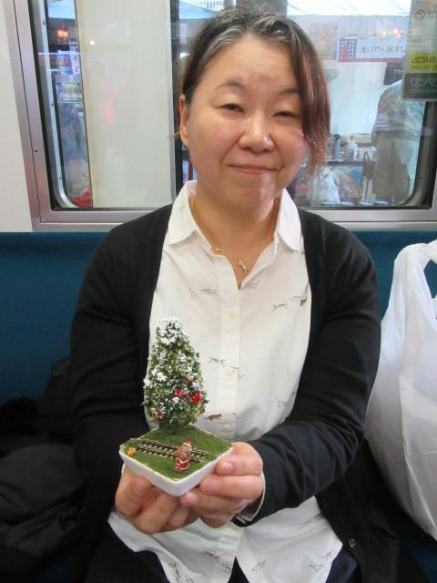12月14日 レトロな駅舎にて、クリスマスステーションin八瀬_f0227828_08271826.jpg