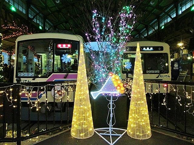 12月14日 レトロな駅舎にて、クリスマスステーションin八瀬_f0227828_08292113.jpg