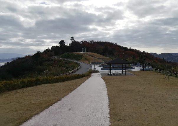 まったりセットを持って、今日も、まろたんとあじ竜王山公園へ。_b0149340_19010057.jpg