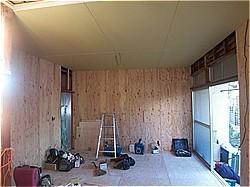 木造耐震補強工事-A邸 構造用合板_c0087349_11352475.jpg