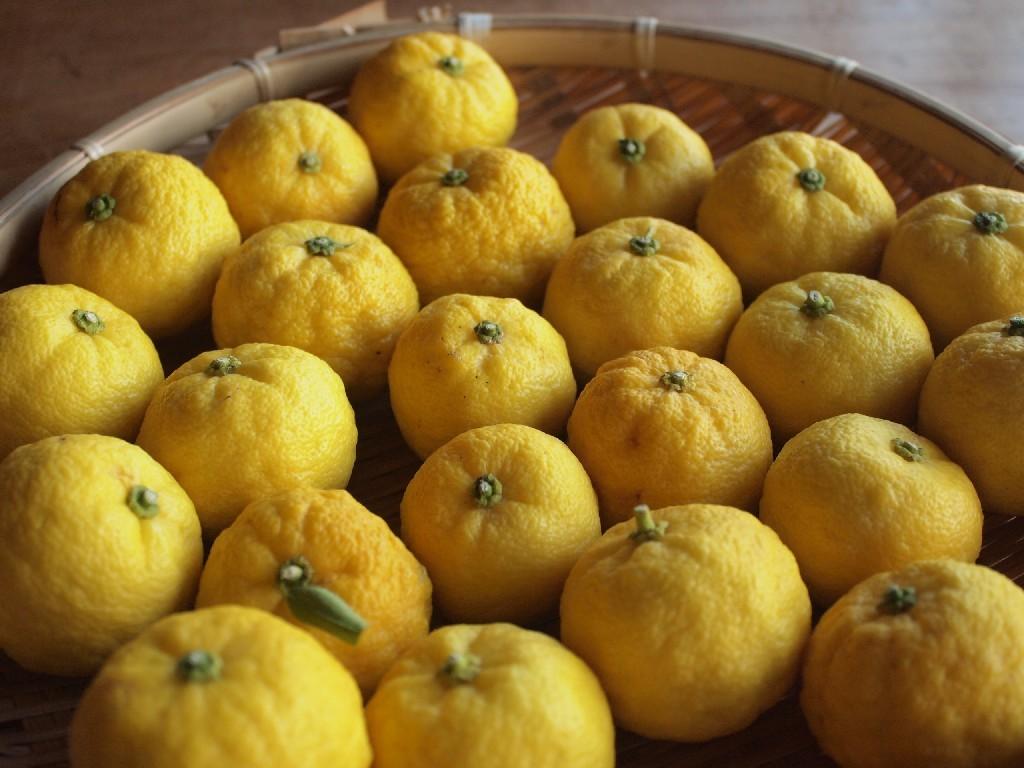 柚子とお菓子。_b0319255_21194160.jpg